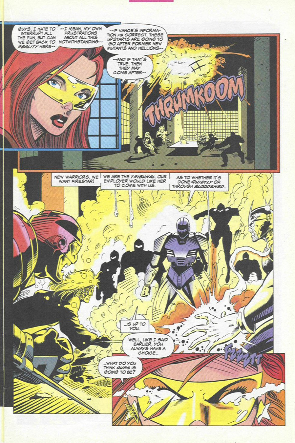 The New Warriors Issue #45 #49 - English 10