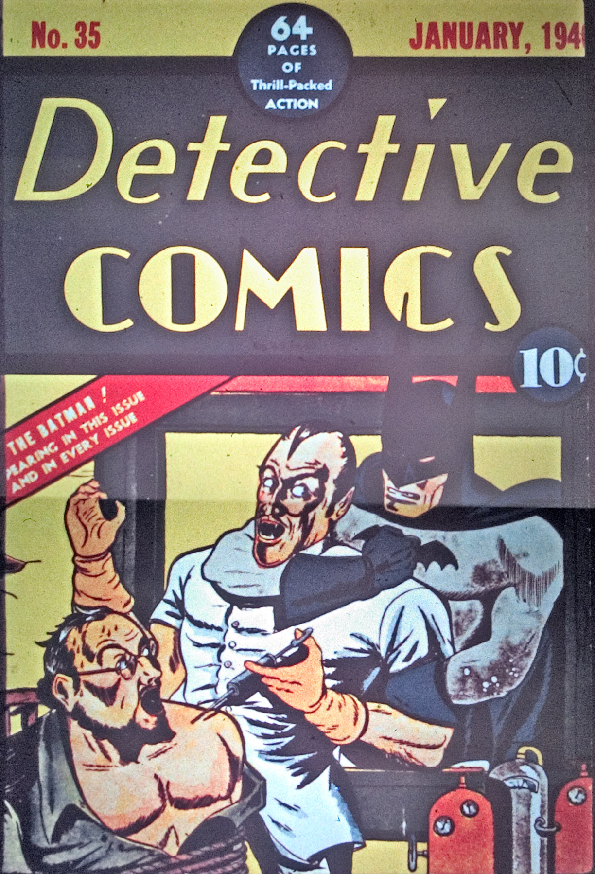 Detective Comics (1937) 35 Page 0
