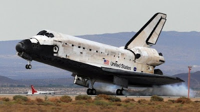 Space Shuttle Discovery Lands Safely in California