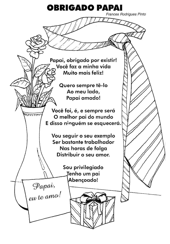 Versinhos E Poesias Ilustrados Para O Papai Pra Gente Miúda