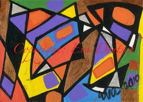 Eva Deutsch: Happy Abstract 2010  Eva Deutsch: Ha...