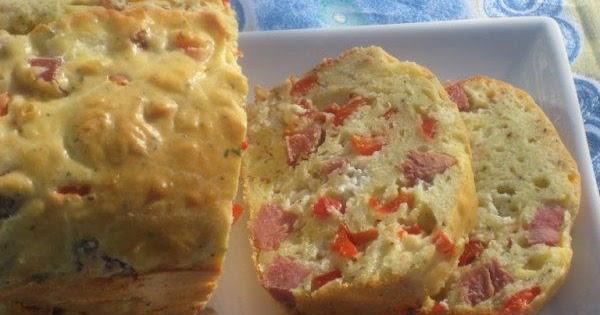 Recette Cake Jambon Et Poivron Rouge