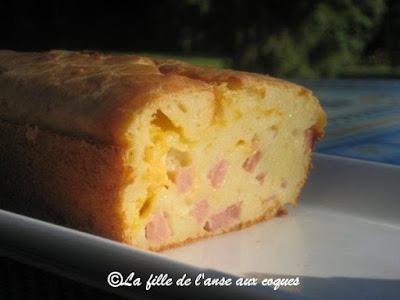 Cake De Sophie Jambon Cheddar