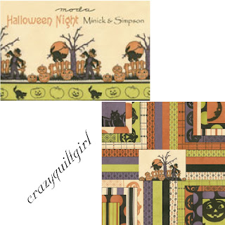 Moda HALLOWEEN NIGHT Fabric by Minick & Simpson