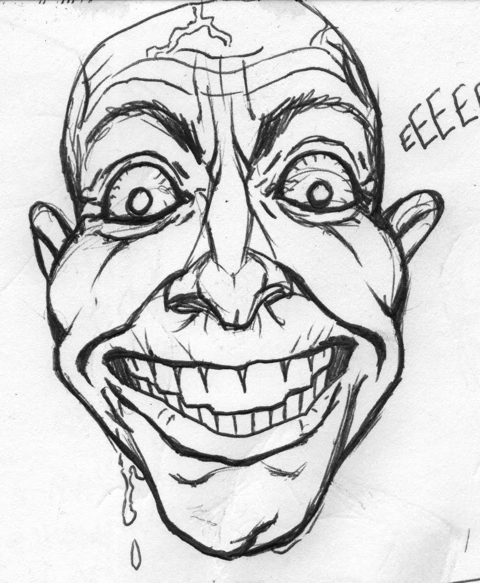 Crazy Face | Art of David Miley