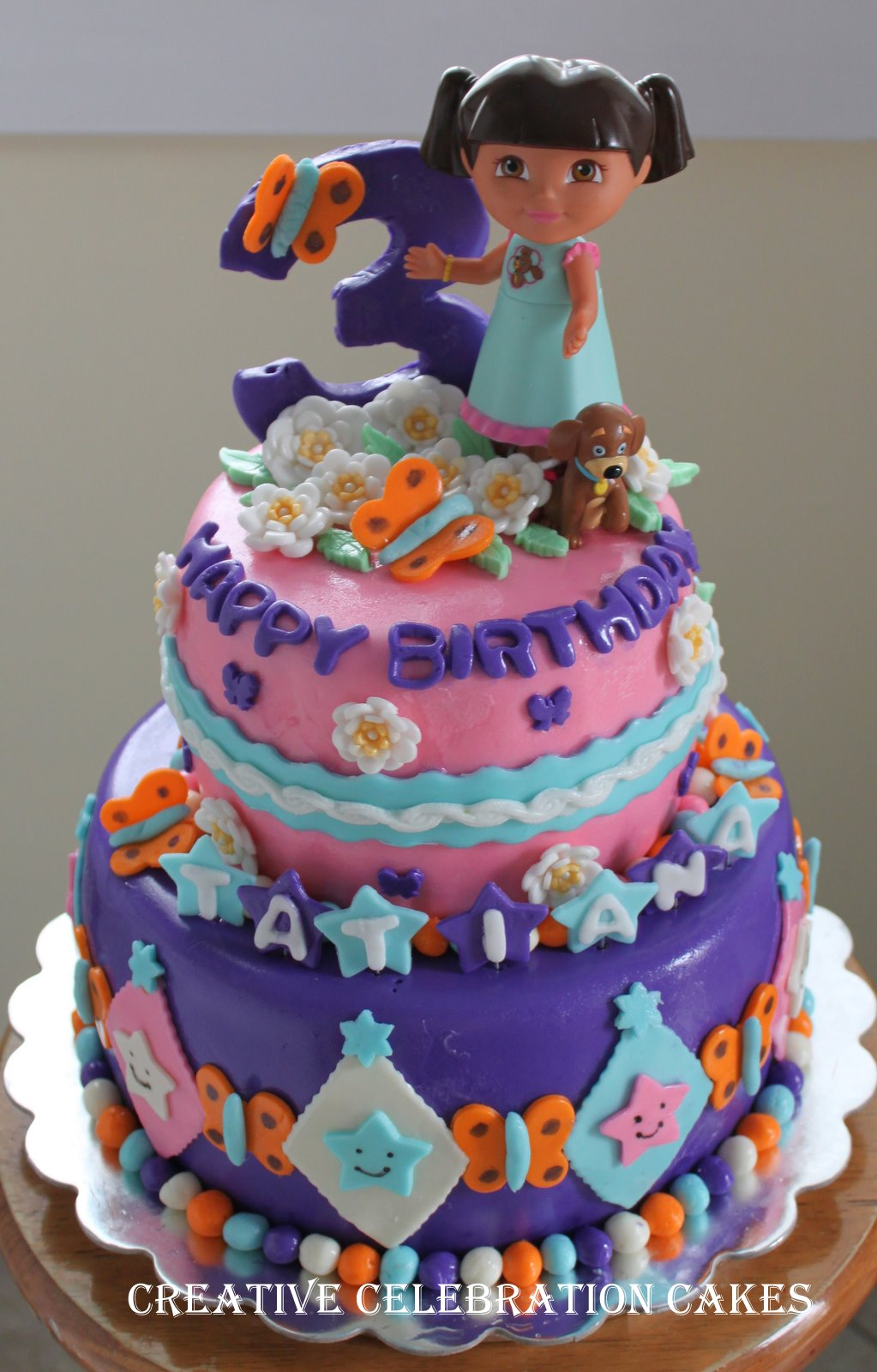 Perfectly Magical Events: Dora Birthday Cake