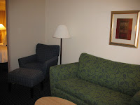 living room at Springhill Suites