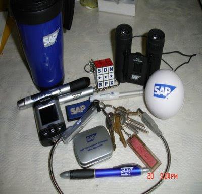 Blag's bag of rants: I love SAP's Merchandise