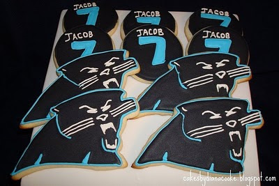 Cakes By Diana In Charlotte Nc Carolina Panthers Cookies