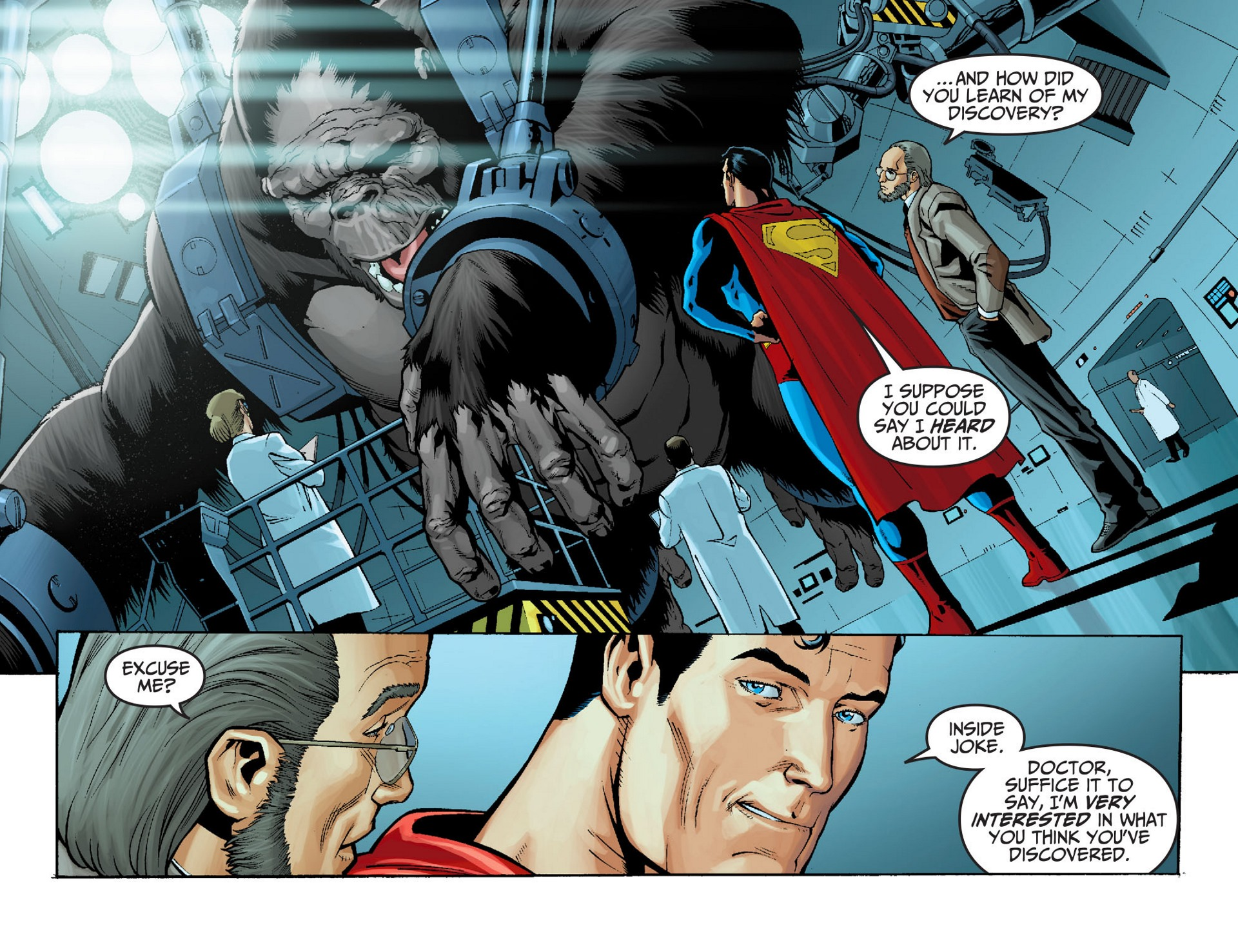 Read online Adventures of Superman [I] comic -  Issue #22 - 12