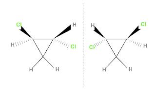 1,2-dichlorocyclopropane and a spiran