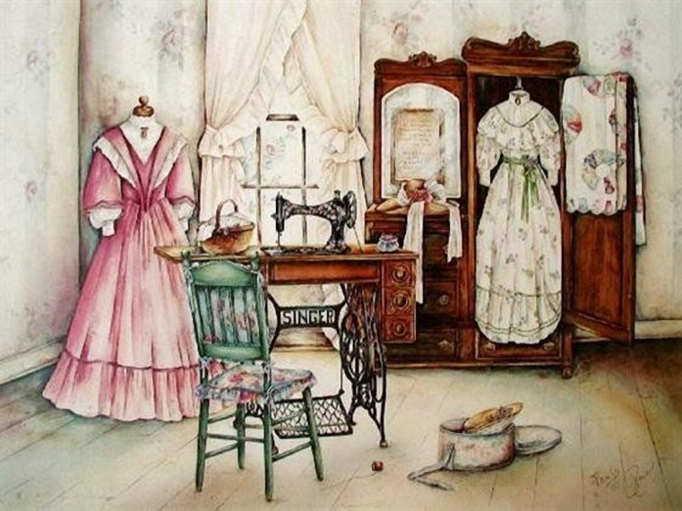 Retro Images Of Sewing Machines Oh My Fiesta For Ladies!