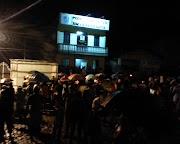 População de Maruim realiza protesto contra a taxa de iluminação pública