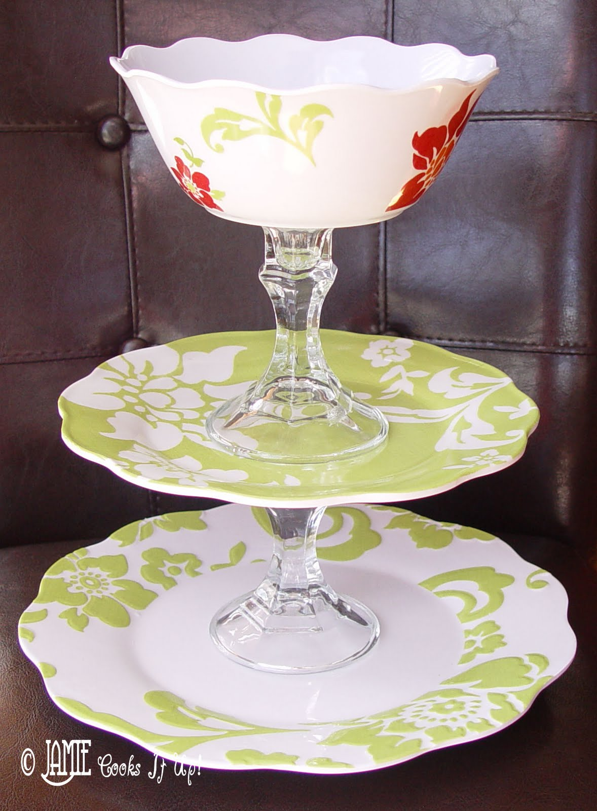 Best How to make your own Tiered Serving Platter for ***CHEAP*** QA12