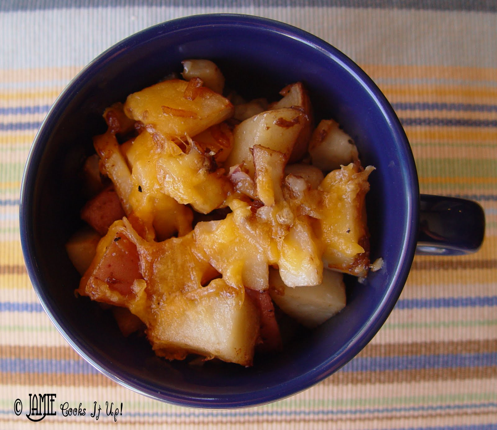 Easy Way To Cook Roasted Red Potatoes: Roasted Red Potatoes With Cheese