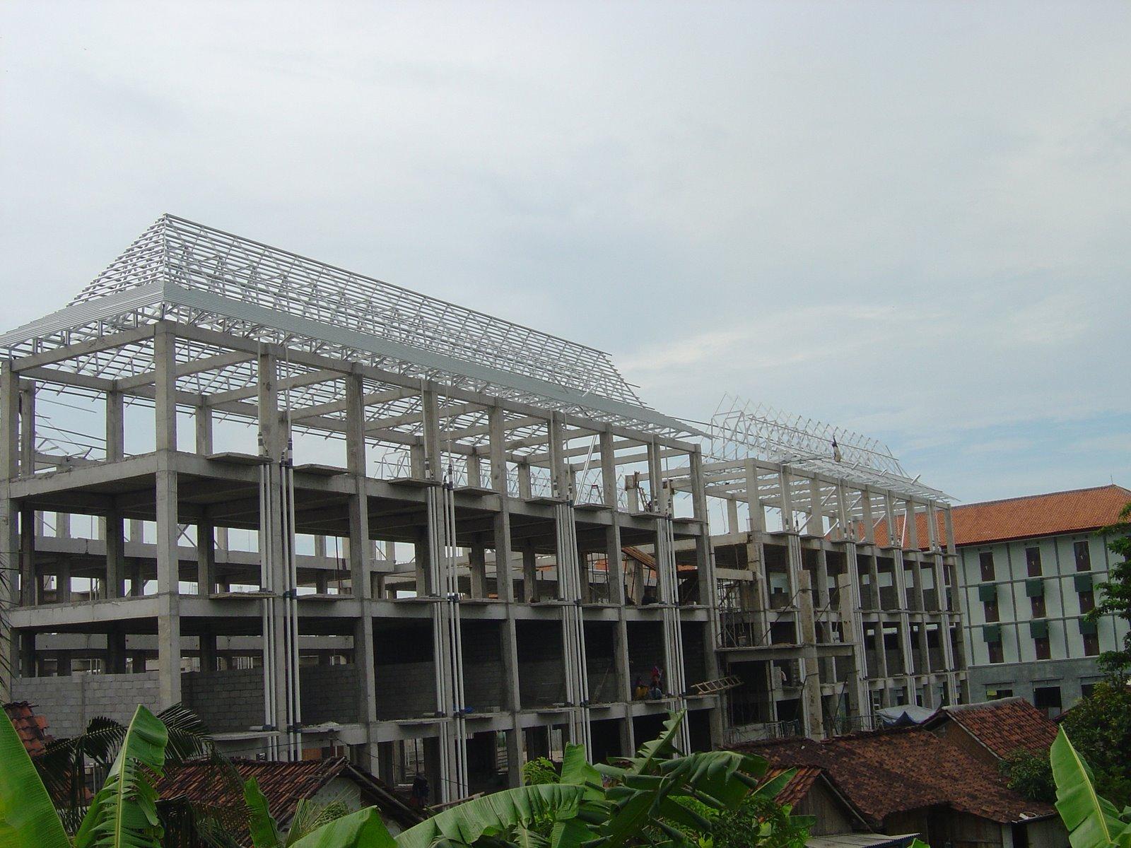 dimensi truss baja ringan foto-foto project: konstruksi kuda rangka atap rumah ...