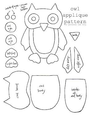 amazing mae: a pattern for the owl