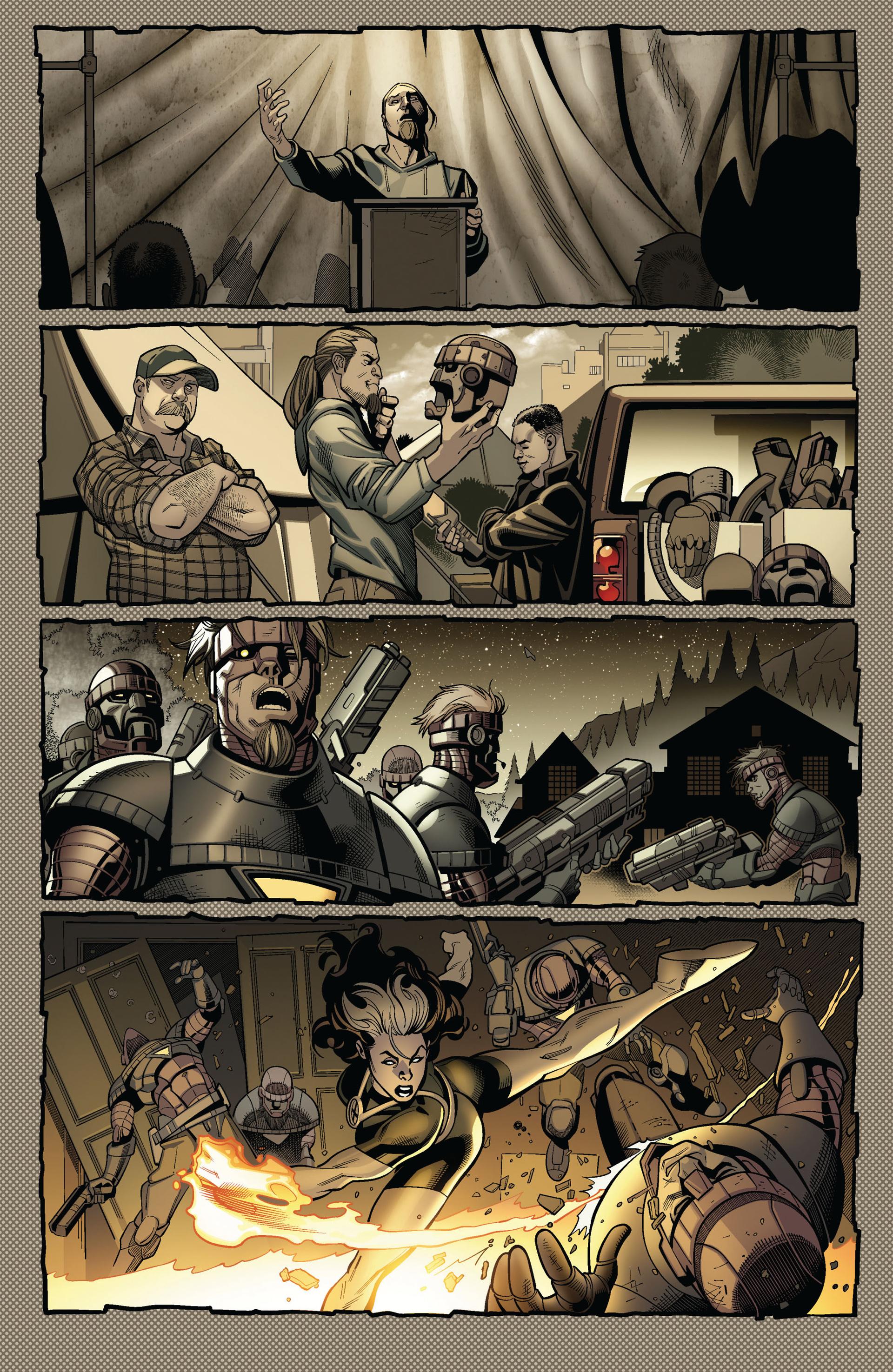 Read online Ultimate Comics X-Men comic -  Issue #4 - 4