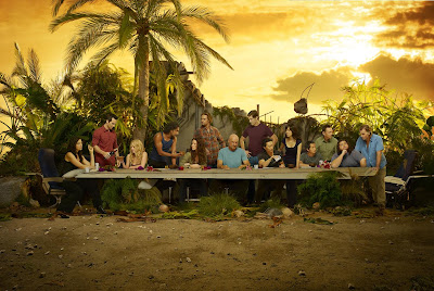 EW.com Exclusive 3rd Lost The Last Supper Cast Photo