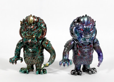 Super 7 - FHP (Factory Hand Painted) Mongolions by L'Amour Supreme