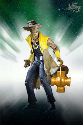 DC Direct Blackest Night Series 8 - Sinestro Corps Member Scarecrow Action Figure