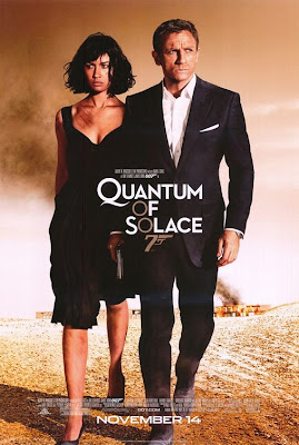James Bond 007: Quantum Of Solace Final Theatrical One Sheet Movie Poster
