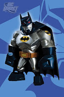 DC Direct Uni-Formz - Armored Batman Designer Vinyl Figure