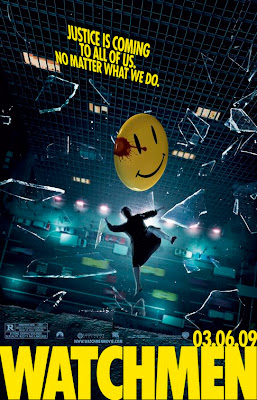 Watchmen Teaser Theatrical One Sheet Movie Poster - Justice Is Coming To All Of Us. No Matter What We Do.