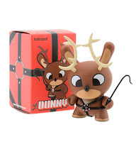 Kidrobot - 3 Inch Reindeer Dunny and Packaging by Chuckboy