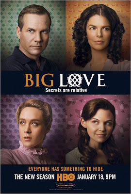 Big Love Season 3 on HBO Television Poster