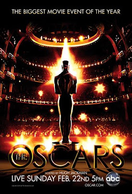 The Oscars hosted by Hugh Jackman - Official 81st Annual Academy Awards Poster