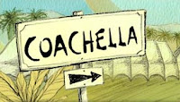 The Road to the 2009 Coachella Music and Arts Festival in Indio, CA