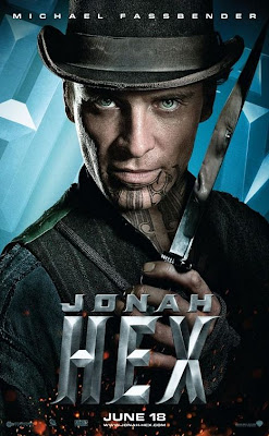 Jonah Hex One Sheet Character Movie Poster Set - Michael Fassbender as Burke