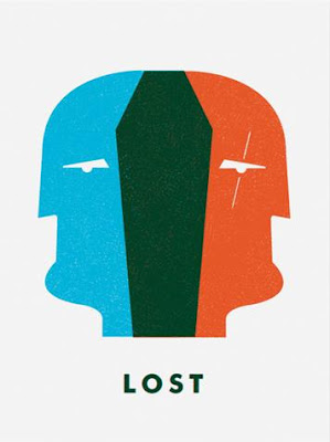 LOST Screen Print Series 3 - Dual-Locke by Ty Mattson