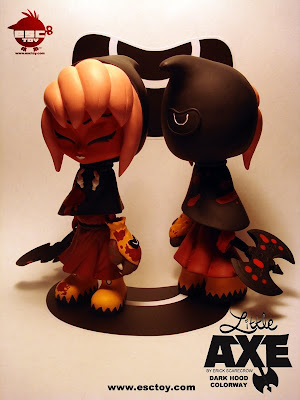 ESC Toy - Little Axe Resin Figure Dark Hood Colorway by Erick Scarecrow