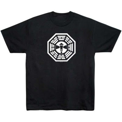 Lost - Dharma Initiative Lamp Post Station Logo T-Shirt