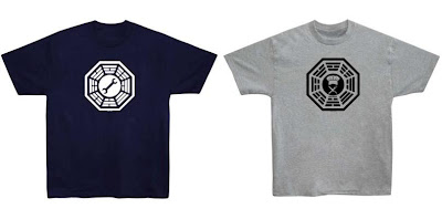 Lost - Dharma Initiative Motorpool and Cafeteria Logo T-Shirts
