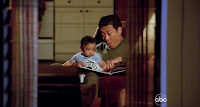 Lost - Some Like It Hoth - Francois Chau as Dr. Pierre Chang and a baby Miles Straume