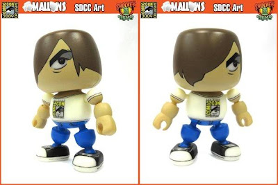 Shocker Toys - SDCC 2009 Exclusive San Diego Comic Con Logo Mallow Vinyl Figure