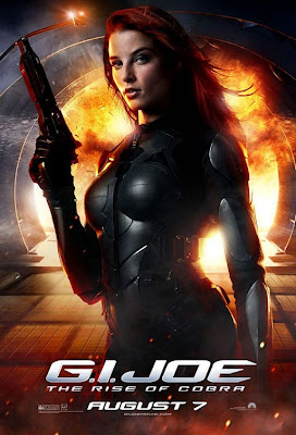 G.I. Joe: Rise of Cobra Character Movie Posters Set 3 - Rachel Nichols as Scarlett