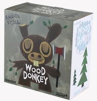 Kidrobot - Wood Donkey 8 Inch Dunny Packaging by Amanda Visell