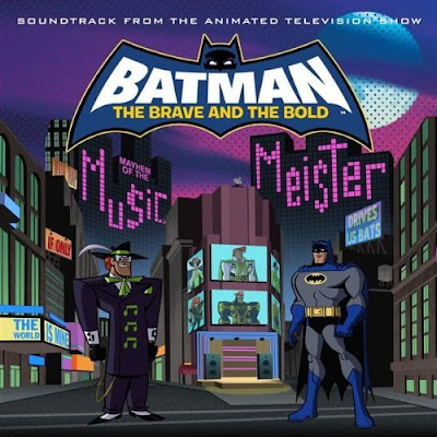 Batman The Brave and the Bold - Mayhem of the Music Meister Episode Soundtrack Album Cover