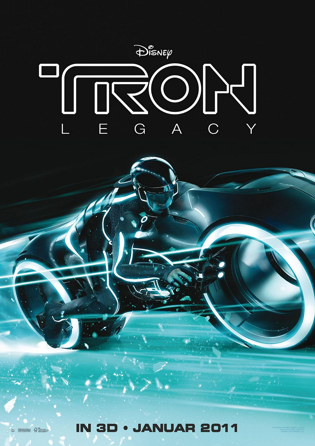 The Blot Says Tron Legacy One Sheet Movie Posters
