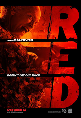 RED One Sheet Character Movie Posters - John Malkovich as Marvin Boggs