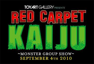 Toy Art Gallery presents Red Carpet Kaiju Group Show