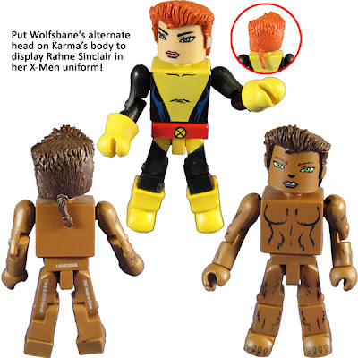 New York Comic-Con 2010 Exclusive New Mutants Minimates Box Set - Wolfsbane
