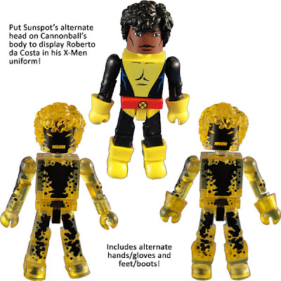 New York Comic-Con 2010 Exclusive New Mutants Minimates Box Set - Susnpot