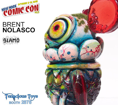 New York Comic-Con 2010 Exclusive Brent Nolasco x Blamo 5.5 Inch Mijo (My Child) Resin Figure
