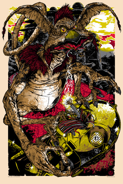 Mondo Star Wars Screen Print Series #8 - Salacious B. Crumb by Rhys Cooper