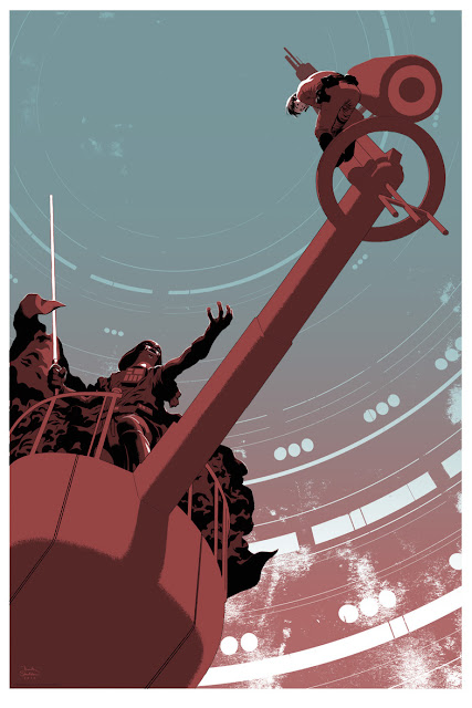 Mondo Star Wars Screen Print Series #11 - Luke's Destiny by Frank Stockton